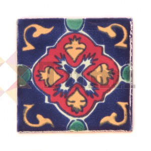 Mexico Hand Painted Tiles 5 cm - 11