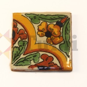 Mexico Hand Painted Tiles 5 cm - 13