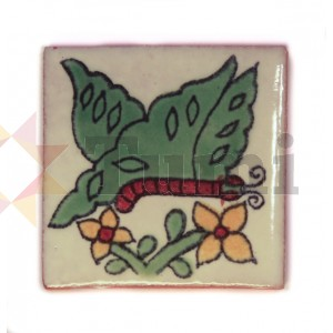 Mexico Hand Painted Tiles 5 cm - 14