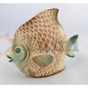 Mexico Ceramic Fish - 12cm assc (Angel)