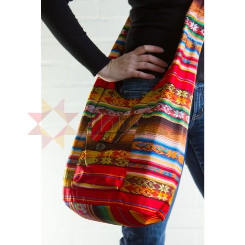 Shoulder bag - coloured