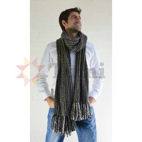 Extra long thick woolen scarf - Various Colours