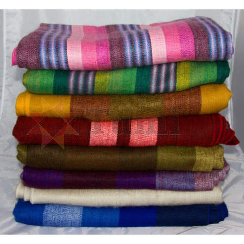 Colourful Patterned blanket - Large