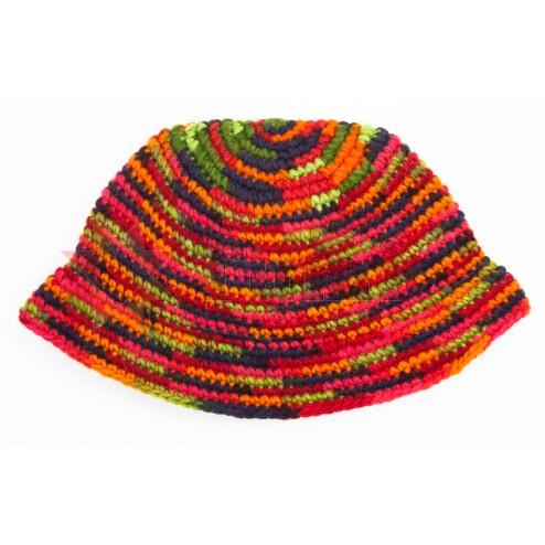Ecuador Crochet Gorro - m/col