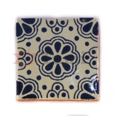 Mexico Hand Painted Tiles 5 cm - 10