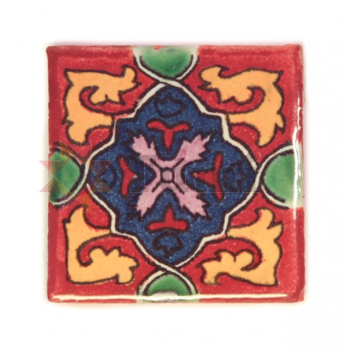 Mexico Hand Painted Tiles 5 cm - 15