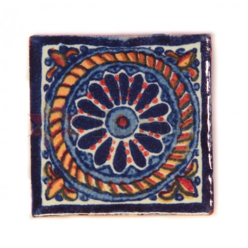 Mexico Hand Painted Tiles 5 cm - 19