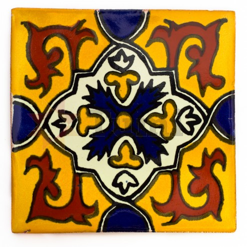 Mexico Hand Painted Tiles 5 cm - 23