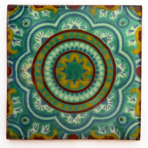 Mexico Hand Painted Tiles 5 cm - 25