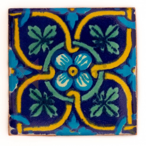Mexico Hand Painted Tiles 5 cm - 26