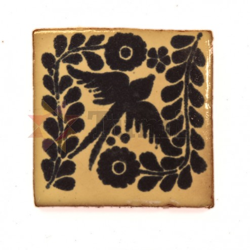 Mexico Hand Painted Tiles 5 cm - 03