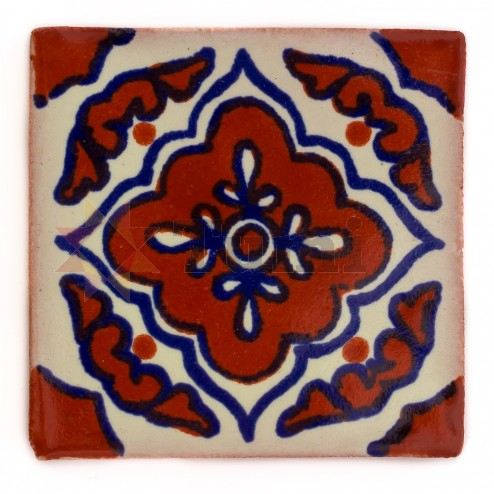 Mexico Hand Painted Tiles 5 cm - 04