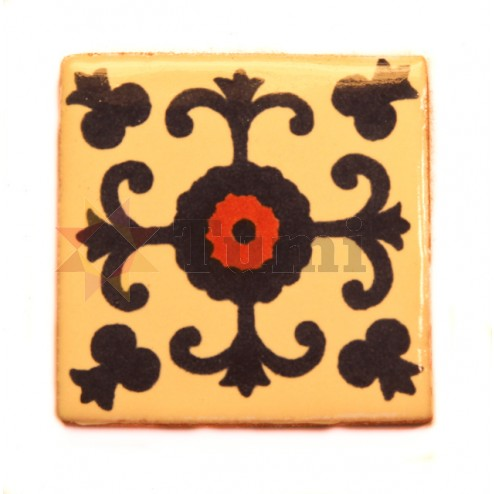 Mexico Hand Painted Tiles 5 cm - 05
