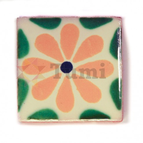 Mexico Hand Painted Tiles 5 cm - 09