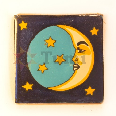 Mexico Hand Painted Tiles 10.5cm - 18