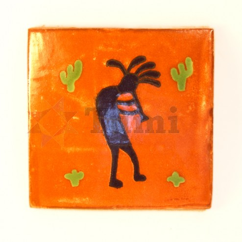 Mexico Hand Painted Tiles 10.5cm - 20