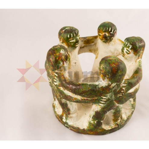Mexico Circle of Friends candle holder