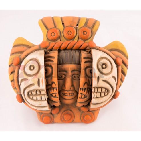 Mexico Triple Mask - 15 cm