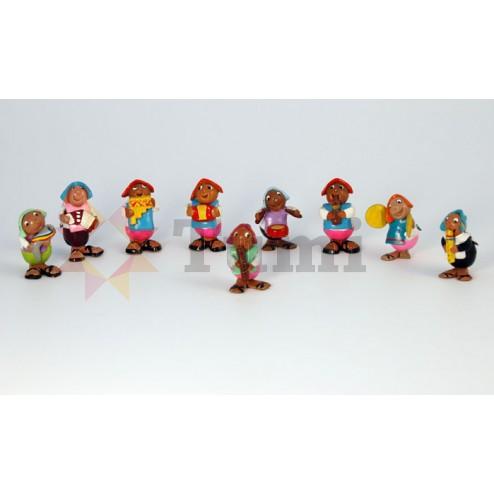 Bolivia Mini Ceramic Figures