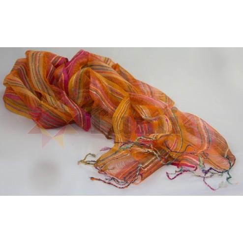 Flag scarf - 100% silk