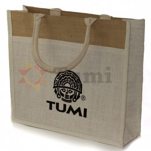 India Jute Bag 40x35x12cms