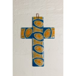Glass Christian cross