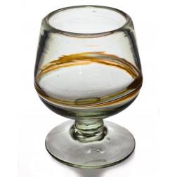 Cognac/brandy glass - small - Multi-stripe