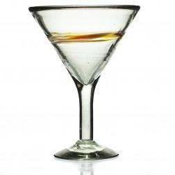 Cocktail/desert bowl - Multi-stripe