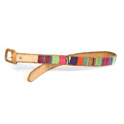 Guatemala Belts - Leather