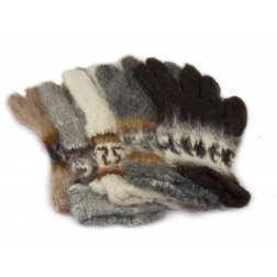Bolivia Alpaca Gloves - Fingers