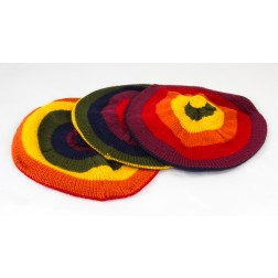 Coloured beret