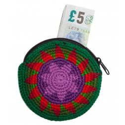 Guatemala Mini Round Purse - Crochet