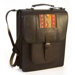 Bolivia Leather bag upright