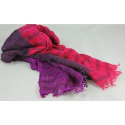 Chalinas scarf - multi-colour from Guatemala