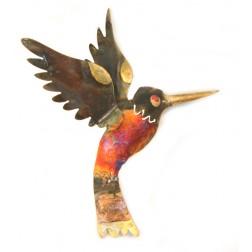 Mexico Recycled Tin Hummingbird