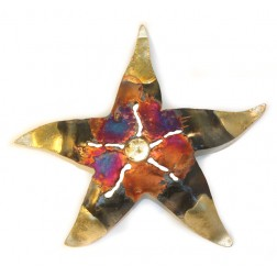 Mexico Recycled Tin Starfish