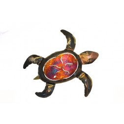 Mexico Recycled Tin Turtle 26cm