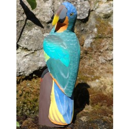 Ecuador Balsa Parrot Unvarnished 40cm