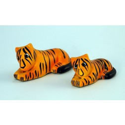 El Salvador Ceramic Tiger - set of 2