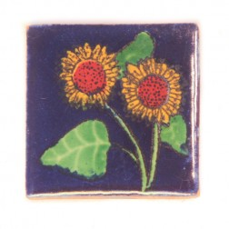 Mexico Hand Painted Tiles 5 cm - 07