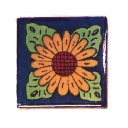 Mexico Hand Painted Tiles 5 cm - 08