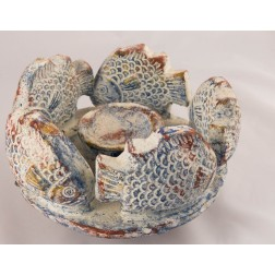 Mexico 5 Fish Copal Burner 8cm