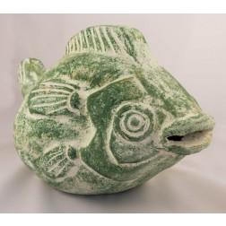 Mexico Ceramic Rustic Puffer Fish