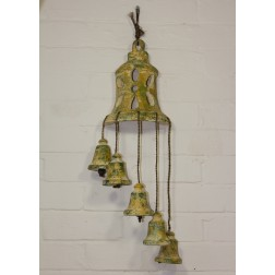 Mexico Sarta Wall Bell & 5 small bells