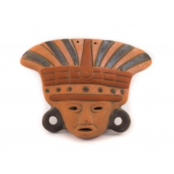 Mexico Ceramic Mask - ass small