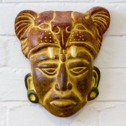 Mexico Mayan Ceramic Masks 25-33cms-4Styles