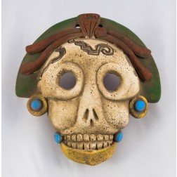 Mexico Mask - Mayan Death - S