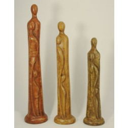 Mexico Ceramic abstract figures 50-70cm