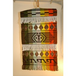 Ecuador Cotton Wall-hanging - sm 37x64 cm