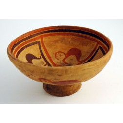 Ecuador  Karchi Naive Pottery Plate - L